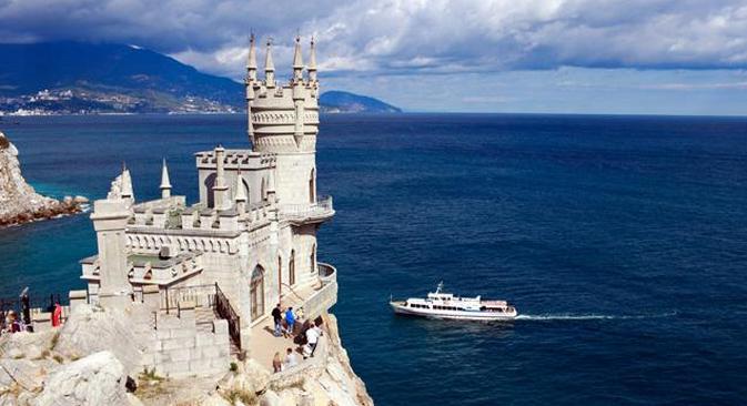Ao longo de 2014, a Crimeia viveu um período de transição durante o qual nem todas as leis russas vigoraram em seu território Foto: Lori / Legion Media