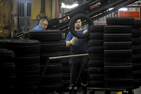 Rússia exportou US$ 488 milhões em borracha e artigos de borracha para o Brasil em 2014 Foto: Grigori Sisoiev / RIA Nóvosti
