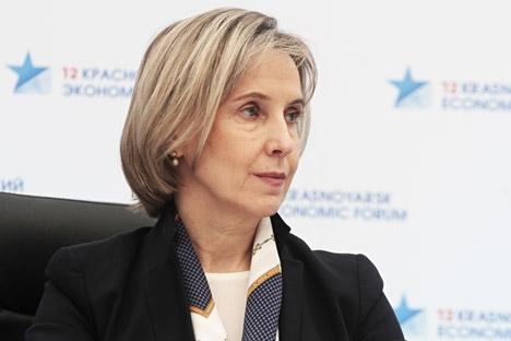 "Ogorodova: ""Presidência dos Brics permite à Rússia trabalhar no reforço à parceria científica"" Foto: Serguêi Tchernikh/RIA Nóvosti"