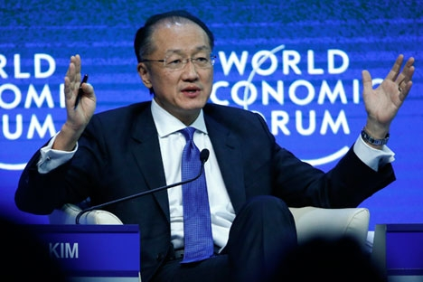 Presidente do Banco Mundial, Jim Yong Kim, divulgou carta conjunta com homólogo no Novo Banco do Brics. Foto: Reuters