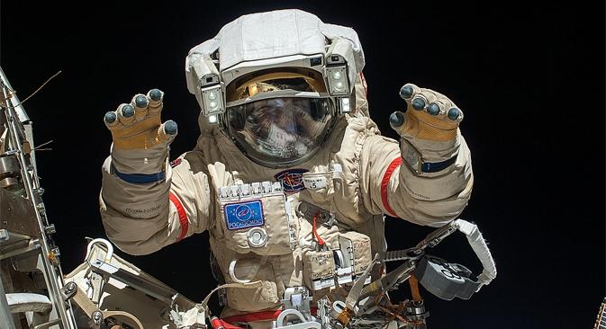 Desde o primeiro voo de Gagárin, o espaço já foi visitado por mais de 550 pessoas de 40 países Foto: NASA.gov