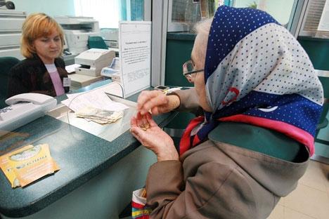Calcula-se que, no total, os fundos de pensões na Rússia acumulam mais de US$ 77,9 bilhões Foto: Ruslan Krivobok/RIA Nóvosti