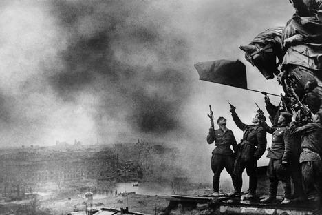 Comemorado em 9 de maio, o Dia da Vitória é o feriado mais importante do país, homenageando os cerca de 27 milhões de soviéticos mortos durante a guerra contra a Alemanha Foto: Fotosoyuz/Vostock-Photo