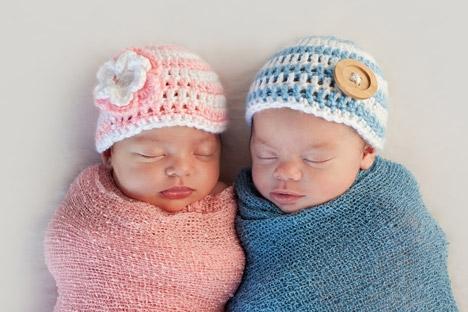 Apenas cerca de 1% da população mundial é composta por gêmeos Foto: Shutterstock