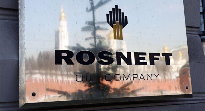 Petrolífera russa planejava aumentar sua parcela no projeto até o final de 2014. Foto: RIA Nóvosti
