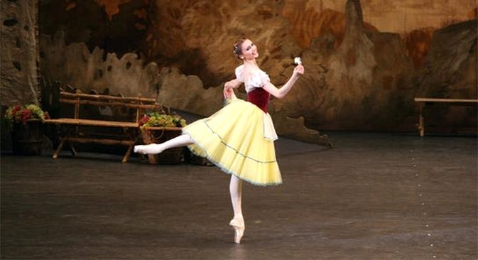 """No repertório moscovita há 170 anos, """"Giselle"""" é cartão de visita da companhia Foto: Damir Iussupov/Teatro Bolshoi"""
