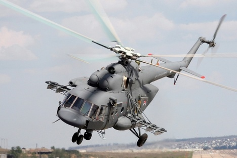 Mais de 60 Mi-17 foram entregues ao Afeganistão no ano passado Foto: Press Photo