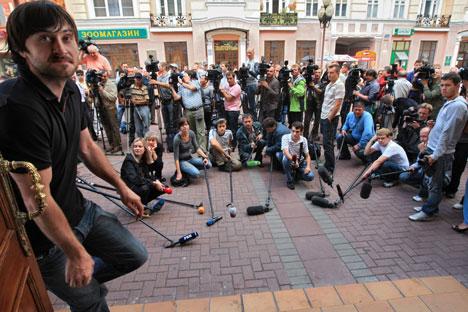 Opositor elaborou rol de profissionais da imprensa russa que deveriam ser sancionados pelos EUA. Foto: Kommersant