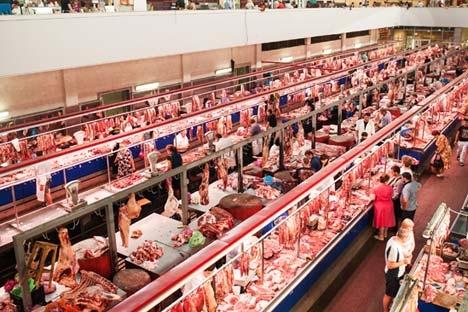 Rússia, Hong King e Angola são os três maiores importadores de carne suína do Brasil Foto: Lori / Legion Media