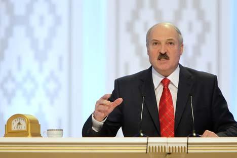 Presidente bielorrusso visitará também evento da Organização para Cooperação de Xangai  Foto: TASS