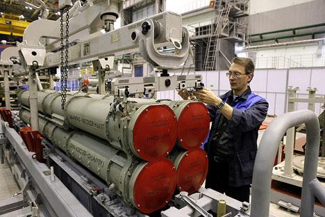 Fábrica Obukhov integra atualmente o consórcio Almaz-Antey