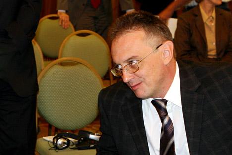 Embaixador russo em Damasco, Aleksandr Kinschak Foto: AP
