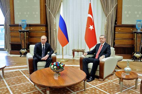 Vladímir Pútin e Recep Tayyip Erdogan Foto: Reuters
