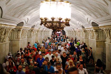 Parto aconteceu em estação do metrô; transporte recebe diariamente 8 milhões de passageiros Foto: Reuters