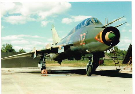 Caça Su-7 superou em muitos aspectos os veículos de seu tempo Foto: Assessoria de imprensa da fábrica de Komsomolsk-no-Amur