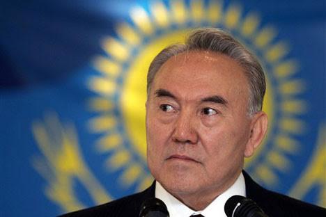 Cazaque é acusado por organizações como a Repórteres Sem Fronteiras, a Transparência Internacional, A Global Witness e a Freedom House em casos de corrupção Foto: Press Photo
