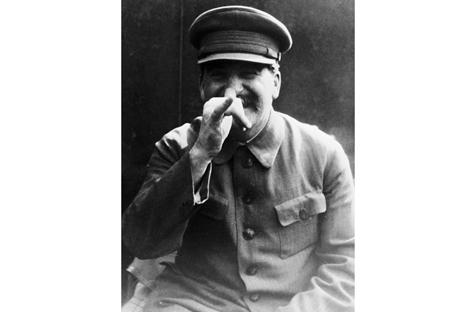 Stálin preferia o quepe militar com viseira, com dois lados retos, do que qualquer outro chapéu Foto: RIA Nóvosti