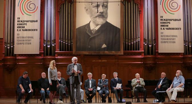 Vencedores foram anunciados em uma cerimônia no Tchaikovsky Concert Hall Foto: Press Photo
