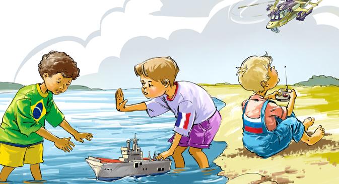 Ilustração: Dmítri Dívin