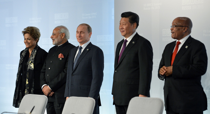 Site foi defendido por Dilma como ferramenta para divulgar condições para investidores nos países do grupo. Foto: BRICS2015