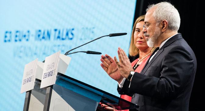 Autoridades do Irã e do grupo P5+1 chegaram a acordo durante reunião em Viena, na terça-feira passada (14) Foto: Photoshot / Vostockphoto