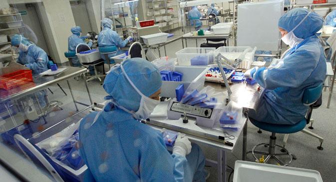 Número de indivíduos em terapia antirretroviral vem aumentando em todos os países Brics Foto: RIA Nôvosti