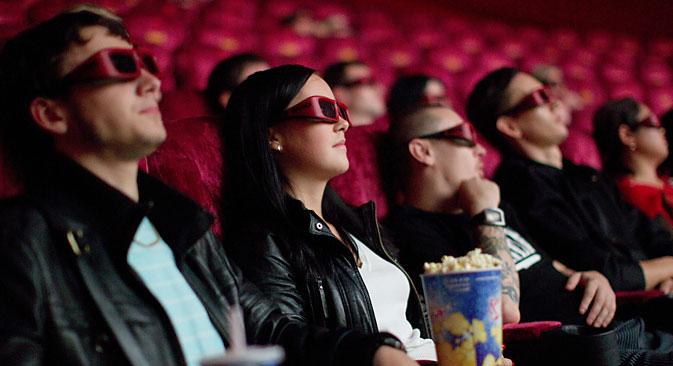 Filmes estrangeiros responderam por 82% da arrecadação total em 2014 Foto: Iliá Pitalev/RIA Nôvosti
