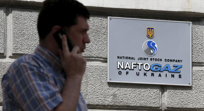 Transporte de gás através da Ucrânia para outros clientes da Gazprom não sofrerá alterações, garantiu Naftogaz Foto: Reuters
