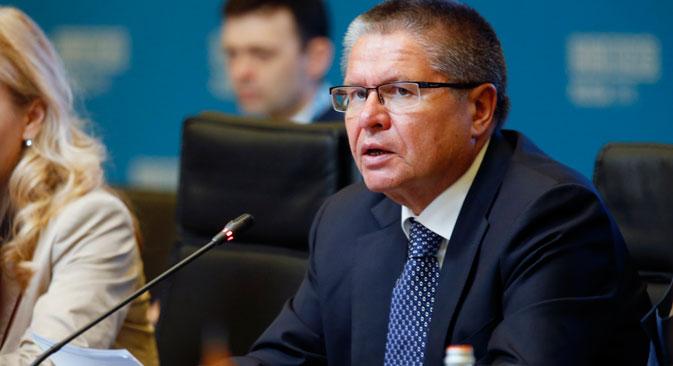 Ministro de Desenvolvimento Econômico russo, Aleksêi Uliukaiev Foto:Mikhail Djaparidze/TASS