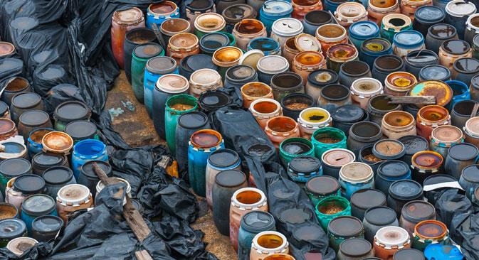 Segundo AIEA, há mais de 68 milhões de metros cúbicos de resíduos nucleares no mundo Foto: Lori/Legion Media