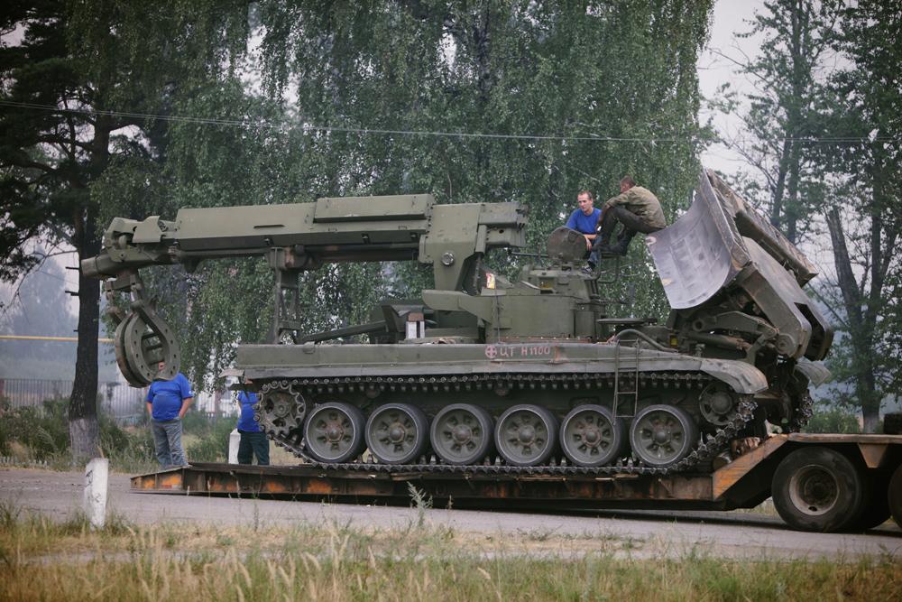 Veículo para Remoção de obstáculos IMR-2