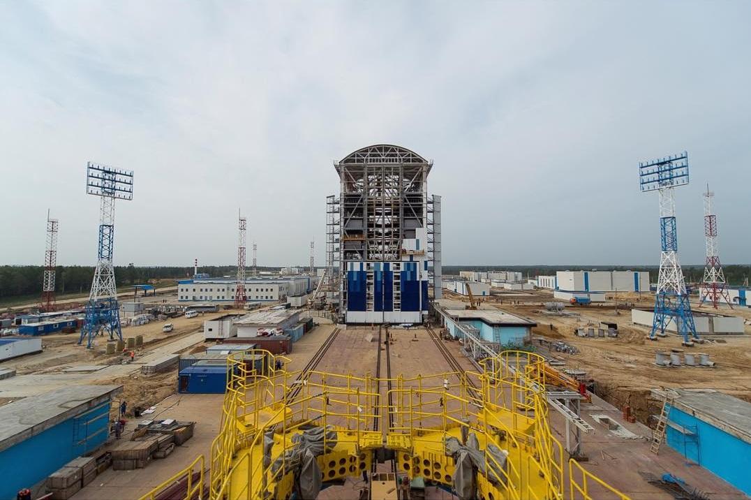 Conclusão de Vostôtchni promete diminuir dependência russa em relação ao espaçoporto de Baikonur, no Cazaquistão