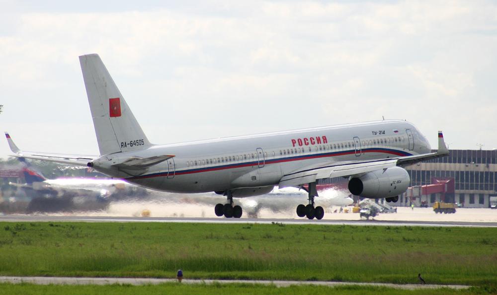 Empresa opera atualmente aeronaves governamentais, incluindo o avião presidencial Tu-214