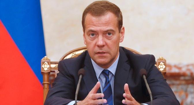"""Medvedev: """"Aderir às sanções é uma escolha consciente e indica que estão prontos para arcar com as contrassanções"""""""