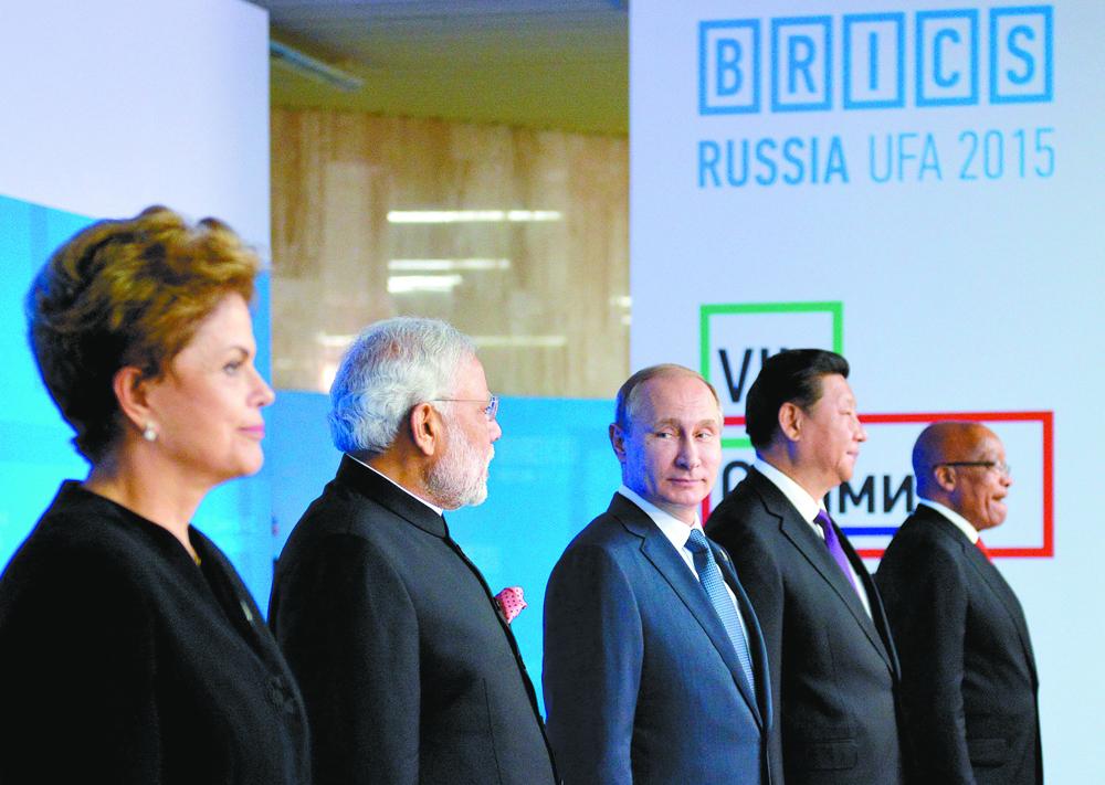 Em discurso na plenária da cúpula, o presidente russo Vladímir Pútin anunciou que o banco do Brics investirá em projetos conjuntos de grande porte em infraestrutura de transporte e energia.