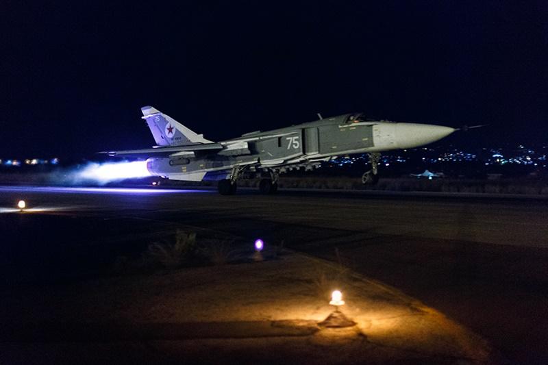 Operação russa na Síria teve início em 30 de setembro