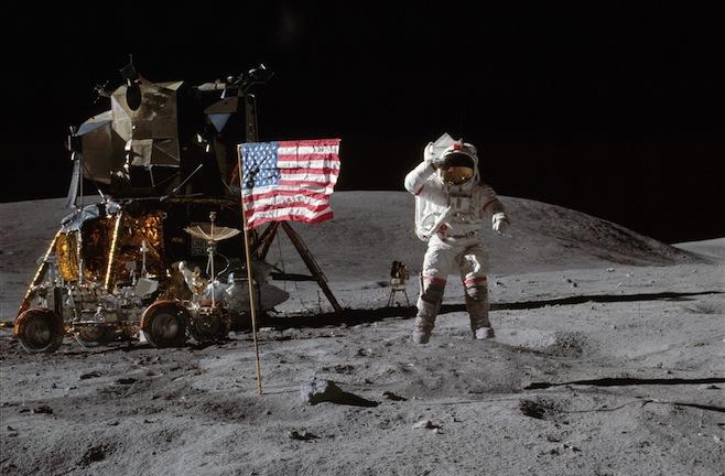Teoria conspiratória sugere que viagem do homem à Lua em 1969 foi uma farsa
