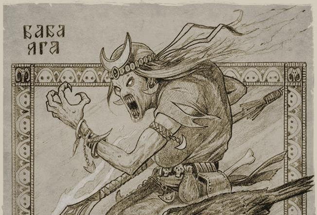 Heróis e vilões do folclore eslavo width=
