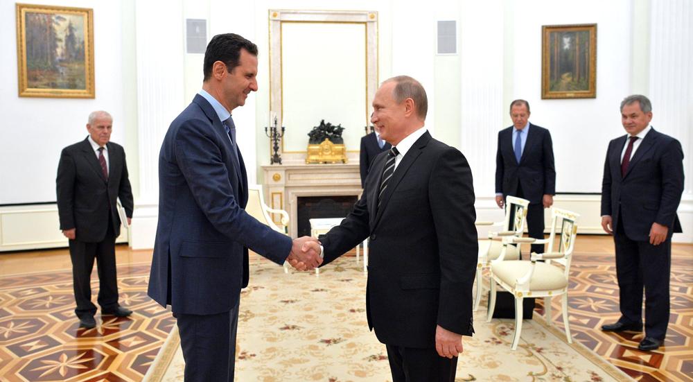 """Mesmo com apoio militar, Pútin reconhece que Assad cometeu """"um monte de erros"""" no conflito"""