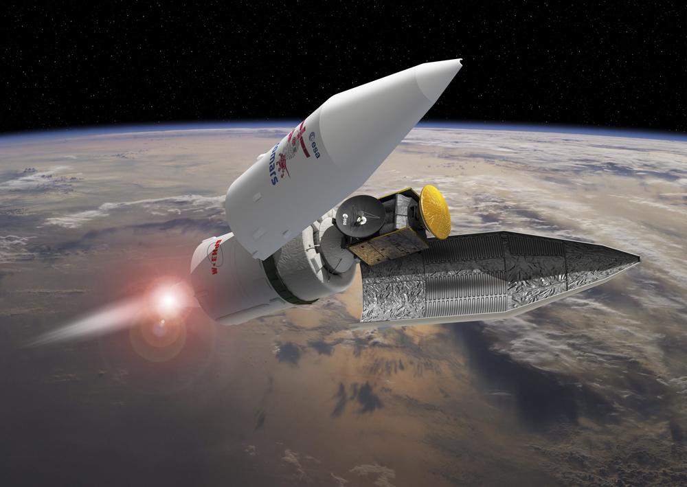 Sonda ExoMars-2016 chegará a Marte em sete meses