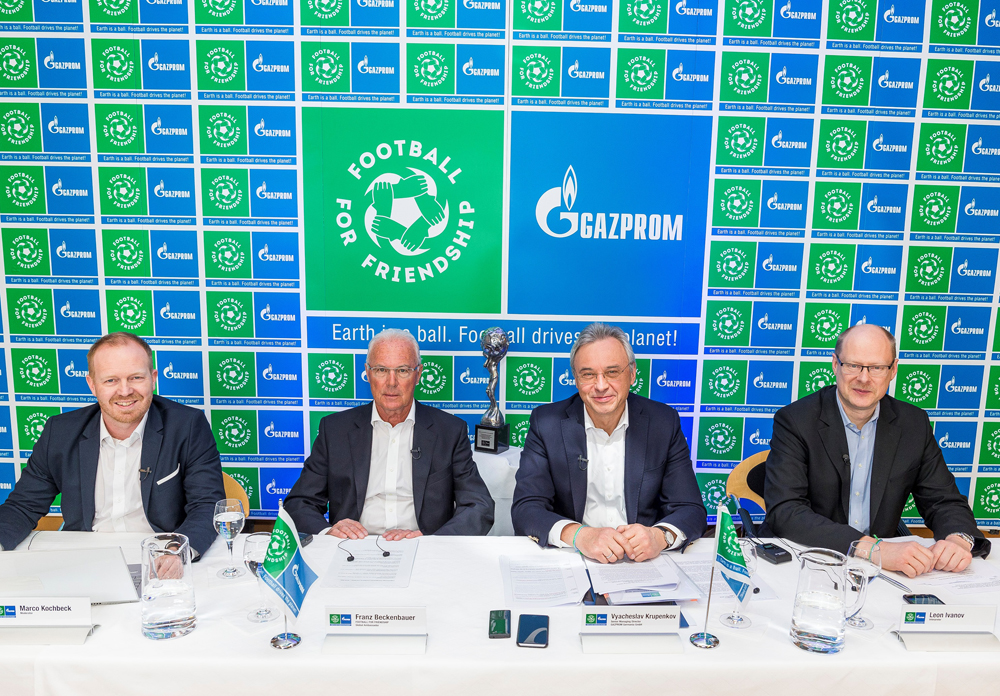 Lançamento de nova temporada foi anunciado por dirigentes da Gazprom
