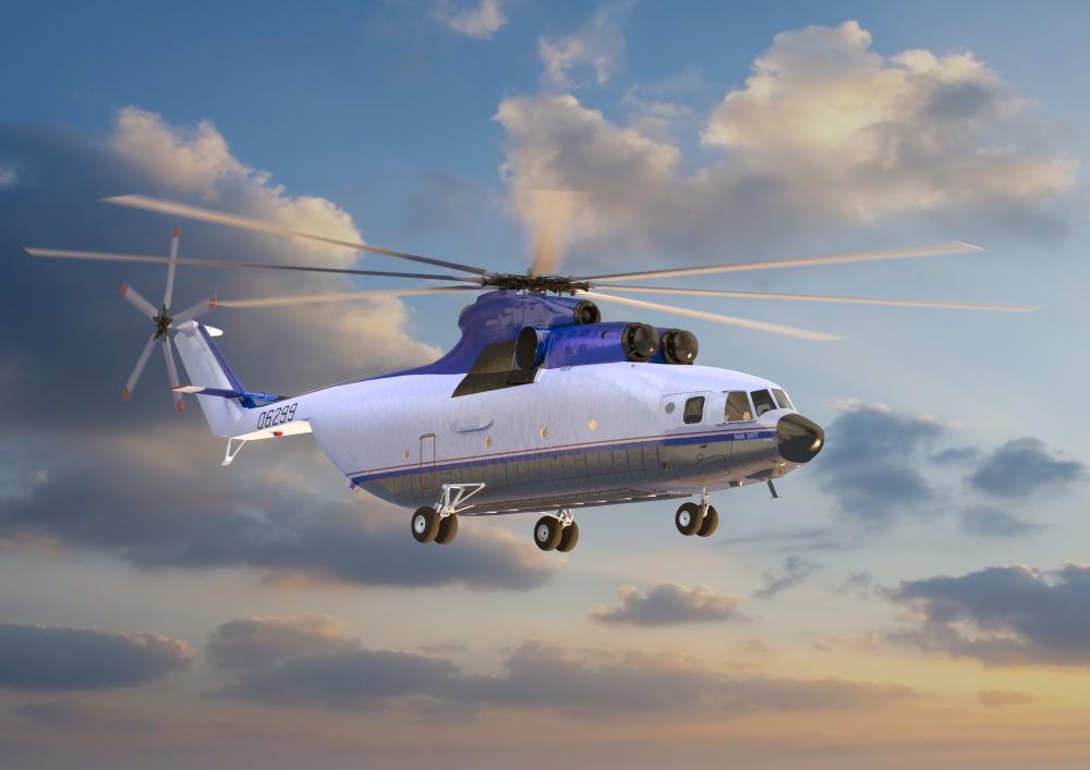 Além da possível compra de modelos Mi-26T2, Brasil pode ganhar serviço de manunteção