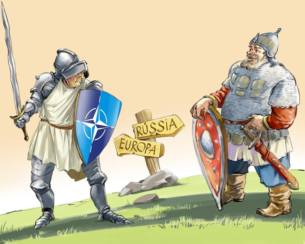 Segundo comentarista, Moscou considera que própria decadência das relações deveu-se ao enfraquecimento da UE. Ilustração: Dmítri Dívin