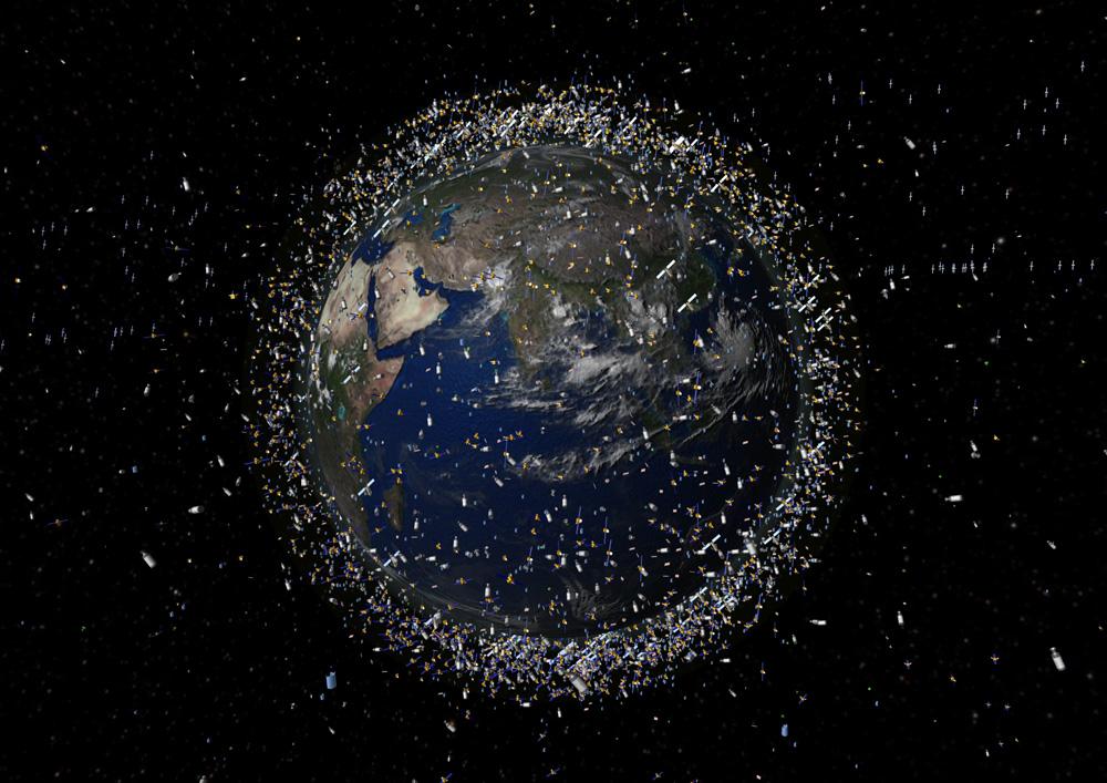 Mais de 600 detritos espaciais poderão ser detectados por dia