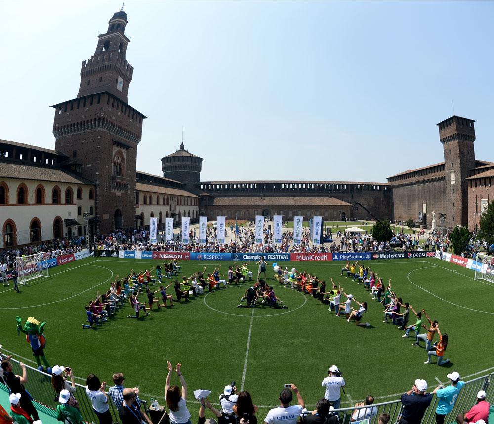 Torneio foi realizado em maio em Milão, na Itália