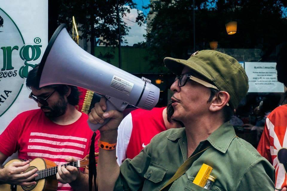 Bloco Soviético reuniu quase 5.000 foliões em SP no ano passado
