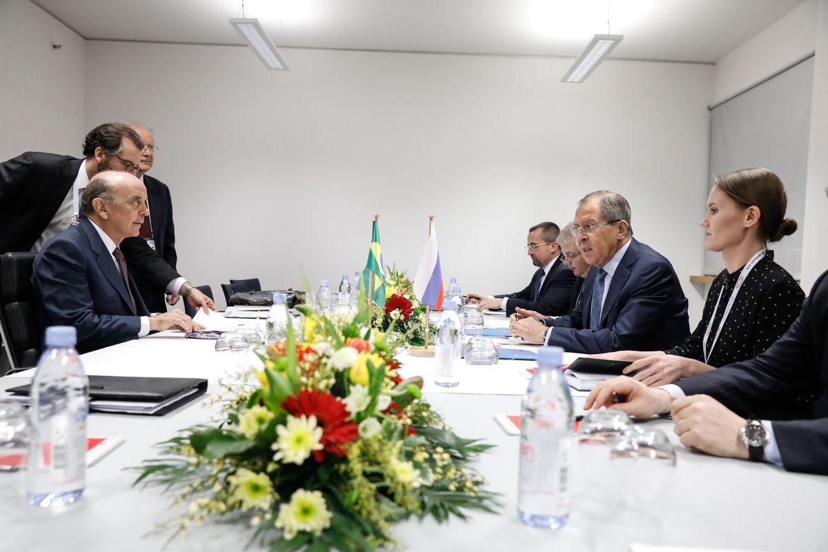 Serra e Lavrov discutiram ampliação de mecanismos de diálogo e reiteraram empenho em desenvolver relações bilaterais
