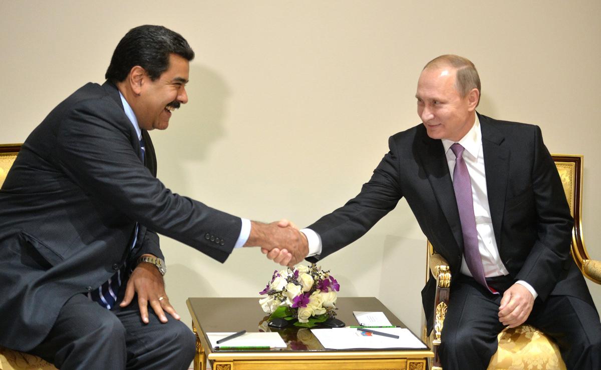 Último encontro entre Maduro e Pútin aconteceu em 2015, em Pequim