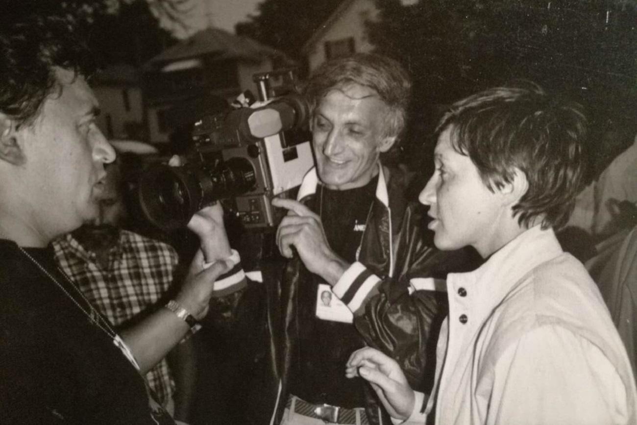 Serguêi Grigorian, o cameraman dos chefes de Estado soviéticos.