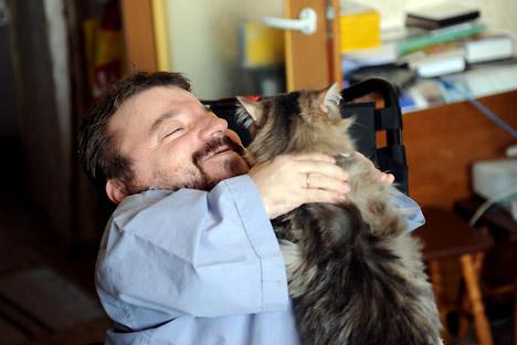 Serjoscha Iljuschin bleibt aktiv und geniest das Leben. Foto: RIA Novosti